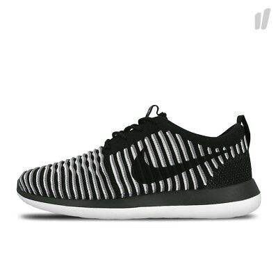 0f7c0814b02c UK 5.5 Women s Nike Roshe Two Flyknit Trainers EUR 39 US 8 844929-001 Black