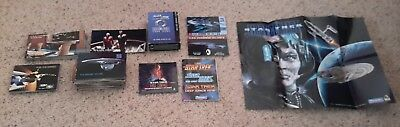 Star Trek cards & Star Trek:The Next Generation Customizable Card Game Set Lot
