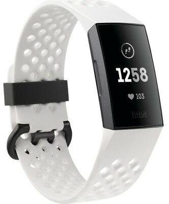 New Fitbit - FB410GMWT - Charge 3 Health & Fitness Tracker - Special Edition