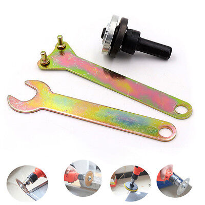 10mm Shank M10 Disc Connector Angle Die Grinder Wrench Nut Tools Accessories Kit