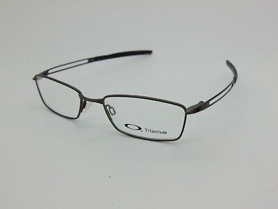 4ed2d826d9 New Authentic OAKLEY COIN OX5071-0252 Pewter Titanium 52mm Rx Eyeglasses