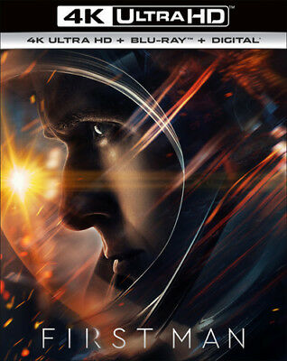 FIRST MAN (Ryan Gosling)  (4K ULTRA HD ) Blu Ray Region free