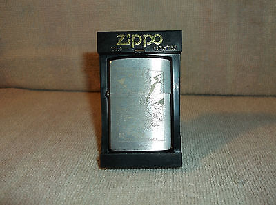 """Zippo - American Eagle 200th Anniversary Brushed Chrome """"SEALED & BOXED"""""""