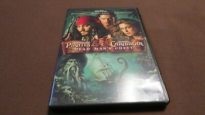 Pirates of the Caribbean Dead Man's Chest DVD Movie