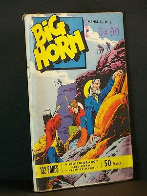 Album BD Big Horn n°2 1957 BE++