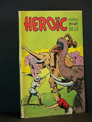 Album BD Heroic n°2 1957 BE++
