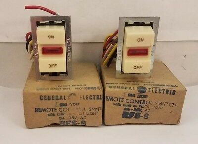 Total Of 6 Switches--GE    RFS-6  3 SWITCH COMPLETE ASSEMBLE  ALL NEW Lot Of 2