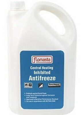 CONCENTRATED CENTRAL HEATING INHIBITED ANTIFREEZE 5 Litre Inhibitor Boiler