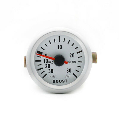 "2"" 52mm Universal Car LED Light PSI Turbo Boost Vacuum Pressure Gauge Meter"