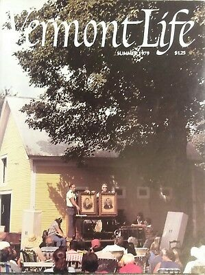 Vermont Life Magazine Summer 1979 With Mailing Cover