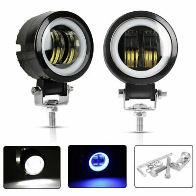 2x 3inch CREE Spot LED Work Light Bar Headlight Motorcycle Offroad Driving Lamp