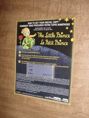 New Animation (2016) ~~ THE LITTLE PRINCE HD Digital Code Only ~ Canadian