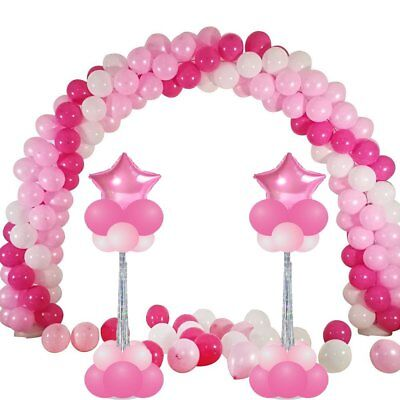 LOT Balloon Frame Column Stand Builder Kits for Birthday Wedding Decorations TO