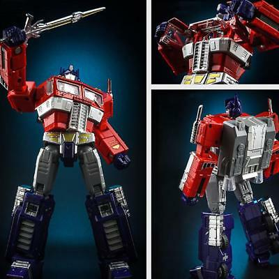 18CM Transformers Optimus Prime Metal Robots Jouets MP10 Figure Modèle FR