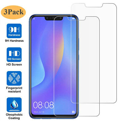 3Pcs Film Protector for Huawei Honor 10 Lite/P Smart 2019 Tempered Glass Screen