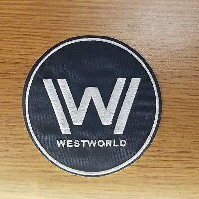 Westworld Logo Patch 3 3/4 inches tall