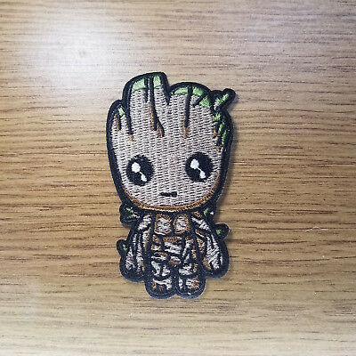 Guardians Of The Galaxy Cute Groot Embroidered patch 3 1/4 inches tall
