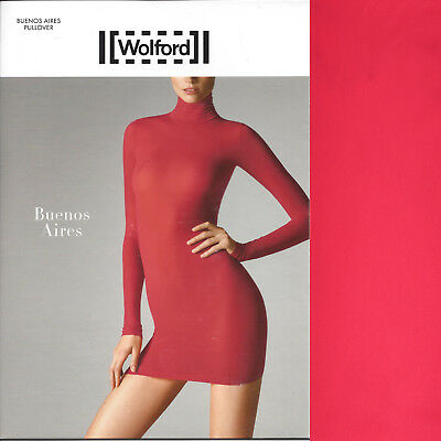 Wolford Buenos Aires Pullover - XS - lipstick - SI  ... Für trendige Looks