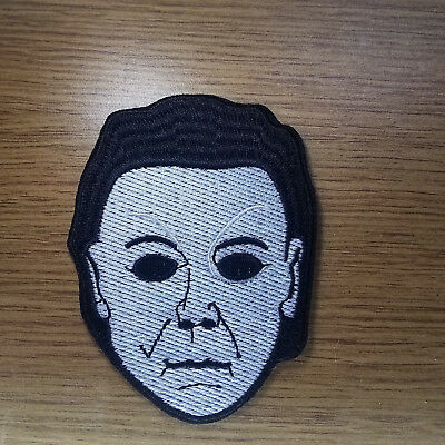 Halloween Michael Myers embroidered Patch 4 inches tall