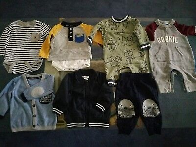 Baby Boy Clothes Size 00 3-6months Autumn/Winter Bundle