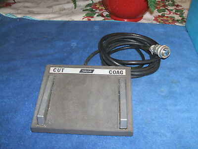 Valleylab Foot Pedal for Surgistat B ESU, Clean/Working Condition, Ready to Use