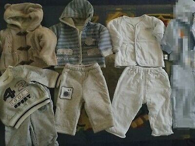 Baby Boys Winter Sets Bundle - Size 000 0-3 months