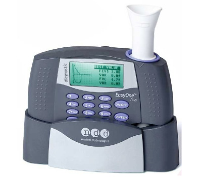 2001-NP EasyOne Plus Diagnostic Spirometry System with Cradle