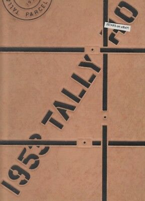 1953 Florida State University Yearbook, The Tally Ho, Tallahassee, Fl