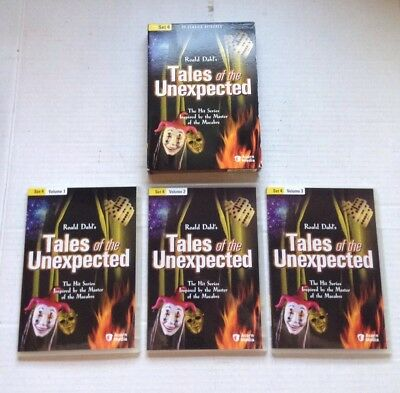 Tales Of The Unexpected Set 4, 3 Dvd British Tv Series Set, 20 Episodes Genuine