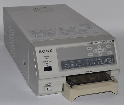 Color Sony UP-20 Analog A6 Video Printer *Used, Power-On Tested*