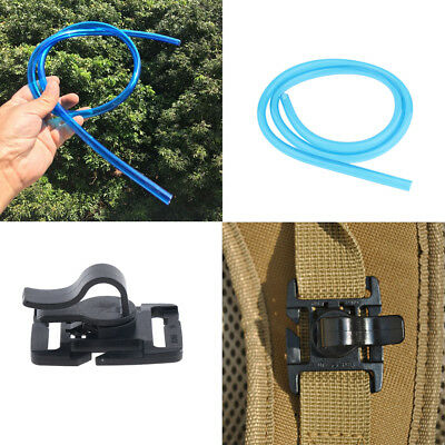 Water Bags 2pcs Water Bags Hydration Bladder Tube Hydration Pack Hose Replacement Hydration Pack Tube Clip Hydration System Kit