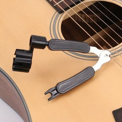 Bass Guitar String Cutter & 3-in-1 Winder Pin Puller for Electric Guitar Banjo