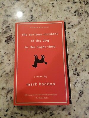 The Curious Incident of the Dog in the Night-Time by Mark Haddon (2003, Paperba…