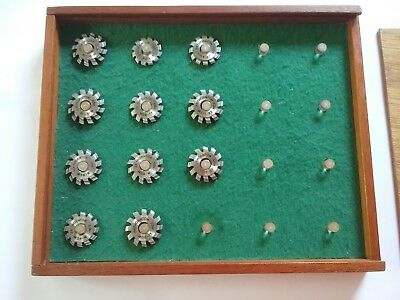 Brand New Set Of Eleven P. P. Thornton Horological Cutters Precision Engineering