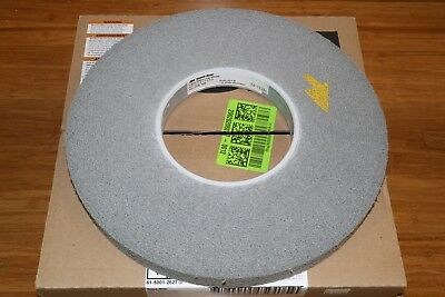 "3M Scotch-Brite 12"" x 1"" x 5"" Light Deburring Finishing Wheel 6S Fine"