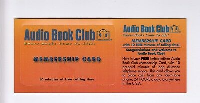 Amerique  Telecarte / Phonecard .. Usa 10Mn C&w Audio Book Sample Neuve+Encart