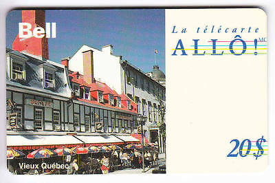 Amerique  Telecarte / Phonecard .. Canada 20$ Bell Quebec V.french  01/94
