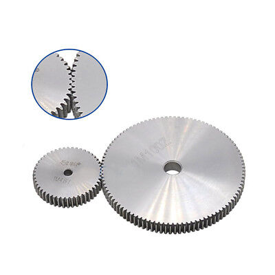 1 Mod 85T Spur Gear Steel Motor Pinion Gear Thickness 10mm Outer Dia 87mm x 1Pcs