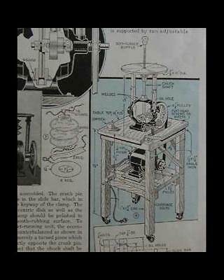 Die Filing Machine How-To build PLANS from junk parts