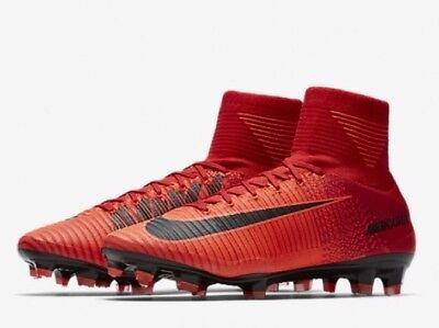 biggest discount 2018 sneakers save up to 80% NWT NIKE MERCURIAL Superfly V DF FG Soccer Cleats - Red ...