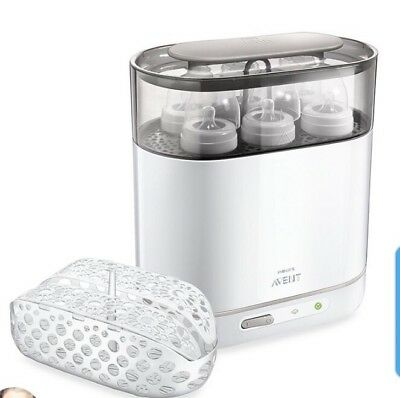 Philips AVENT 4-in-1 Electric Steam Sterilizer, New