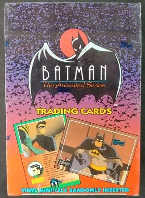 Topps 1993 Batman Animated Series *FACTORY SEALED* FULL BOX Trading Cards! 36 ct