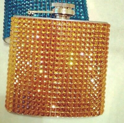 Gold Crystal Flask