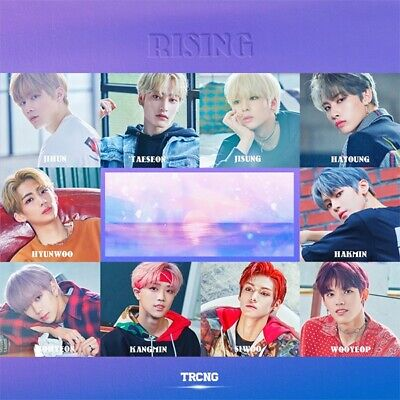 TRCNG [RISING] 2nd Single Album CD+POSTER+Photo Book+3p Card+Sticker KPOP SEALED