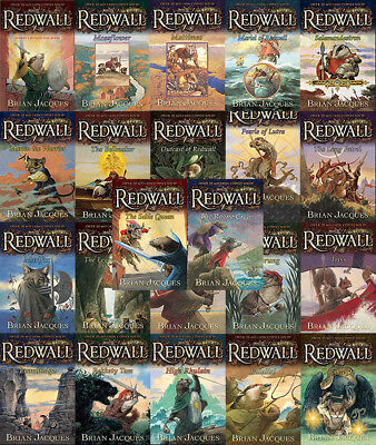 The REDWALL Series By Brian Jacques (21 MP3 Audiobook Collection)