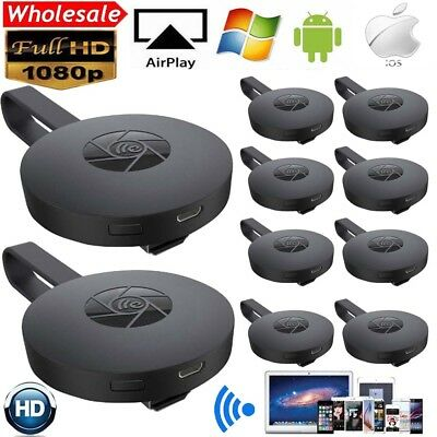 LOT 1-10 1080P HD Media Video Streamer Adapter HDMI G2 BRAND NEW Chromecast TO
