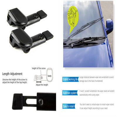 1 Pair Universal Windshield Wiper Stand Car Blade For Left Hand Vehicle Driving