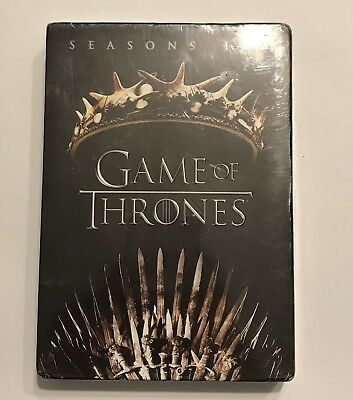 New Sealed Game Of Thrones: Seasons 1 & 2 (DVD, 2017, 10-Disc Set)