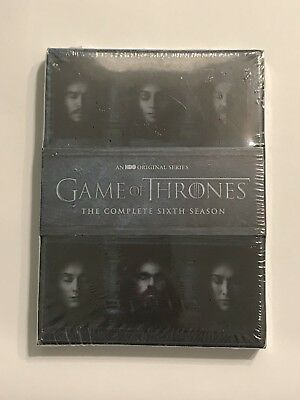 New Sealed Game Of Thrones The Complete Sixth Season (5 Discs, 2016, 5 Disc Set)