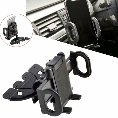 Universal CD Player Slot Mobile Phone Holder In Car Stand Cradle GPS Mount UK